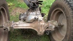 how to replace a transmission transaxle riding lawnmower