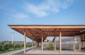 archstudio inserts a modern teahouse into an ancient chinese
