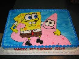 spongebob cakes decoration ideas birthday cakes