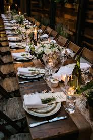 Table Wedding Decorations Urbanite Chic Wedding In Brooklyn Long Wedding Tables Wedding