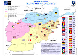 Fort Carson Map Afghanistan Provinces By Isaf Locations In 2008 2924 X 2065