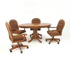 Kitchen Table And Chairs With Casters by Kitchen Chairs With Casters Caster Dining Chairs Caster Chair