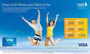 singapore airlines visa promotion air fares 1 u2013 17 apr 2014