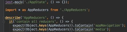 describe it fix element is not imported jest describe it expect in webstorm