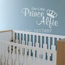 aliexpress com buy free shipping our little princess prince aliexpress com buy free shipping our little princess prince wall stickers for kids personalised wall stickers with kids customized name c2071 from