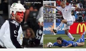 Soccer Hockey Meme - hockey is for men soccer is for boys meme by madsaltz memedroid