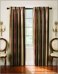 Blue And Red Striped Curtains Blue And Gold Striped Curtains Curtains Home Design Ideas