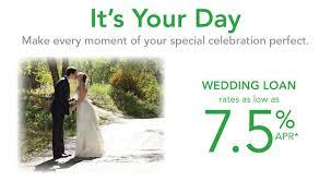 wedding loan wedding loans at community powered federal credit union