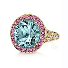 pink sapphires rings images Cathedral quot aquamarine and pink sapphire ring mccaskill and jpg