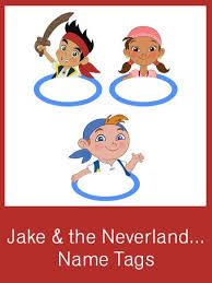 jake u0026 neverland pirates party creative printables
