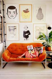Orange Sofa Chair The 25 Best Orange Sofa Ideas On Pinterest Orange Sofa Design