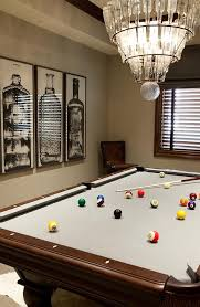 light over pool table arteriors stedman chandelier over pool table transitional media room