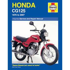 haynes manual honda cg125 k1 b c e br e br j br k 1976 2007