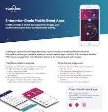 mobile event app etouches event engagement loopd