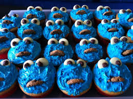 cookie monster cupcakes recipe recipeyum