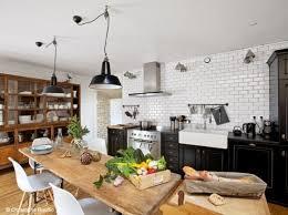 grande table cuisine grande table de cuisine intérieur déco