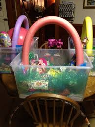 Halloween Baskets Gift Ideas Summer Themed Easter Basket Pool Noodle For The Basket Handle I