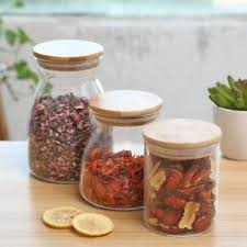 clear glass kitchen canisters 1 pc clear glass kitchen canister snack sugar tea storage jar bottle