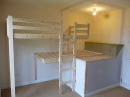 Bunk Bed Designs Bedroom Lovely Oak Hand Made Bunk Bed With Stairs In Small Boys