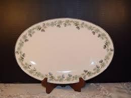 fall serving platters noritake pinetta serving platter vintage fall oval platter 5689