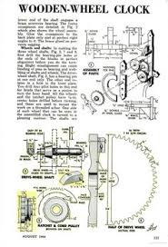 Free Wooden Clock Movement Plans by 7 Free Wooden Gear Clock Plans For You Eccentric