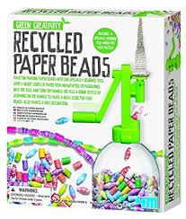 4m recycled paper kit toys