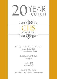 50th high school class reunion invitation golden 20 year class reunion invitation class reunion