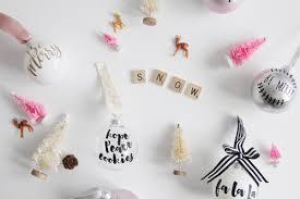 handmade holiday diy ornaments with cricut free cut files a