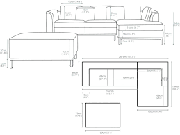 length of standard couch standard sofa size hum home review