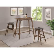 Bar Stool And Table Sets Coaster Bar Units And Bar Tables Mid Century Modern Style Pub