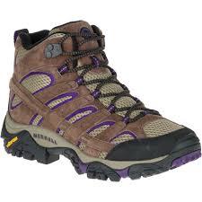 womens hiking boots sale uk sales merrell moab 2 vent mid hiking boots bracken purple