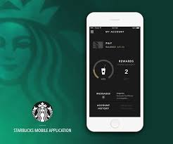 starbucks app android 29 best ui ux mobile app design images on mobile app
