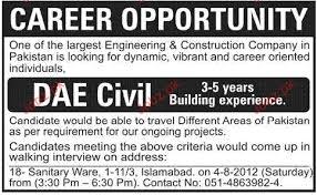 civil engineering jobs in dubai for freshers 2015 movies dae civil diploma holders job opportunity 2018 jobs pakistan