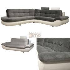 canape bicolore design canapé d angle contemporain canapés tissus pas chers