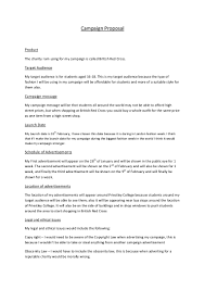 Business Lease Proposal Template Advertising Campaign Proposal Template Virtren Com