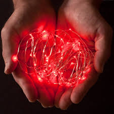 Battery Operated Light Strings by Amazon Com Rtgs 20 Red Color Micro Led String Lights Battery