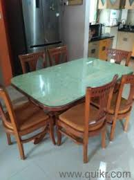 six seater dining table a six seater dining table in a very good condition almost home