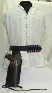 steampunk faux leather drop leg holster for nerf hammershot or