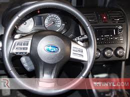 subaru crosstrek decals subaru xv crosstreck 2013 2015 dash kits diy dash trim kit