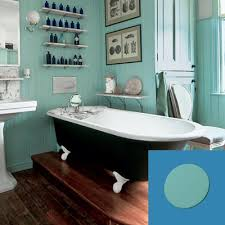 Vintage Bathroom Rugs Turn Of The Century Vintage Style Bath With Turquoise Paint Blob