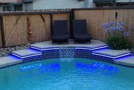 Patio Led Lights Blue Outdoor Led Lights With Home Decorating Interior Design Bath