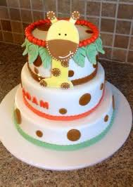 pink giraffe baby shower cake baby shower ideas