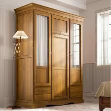 Cermin Brown lemari pakaian jati pintu kaca cermin jepara heritage