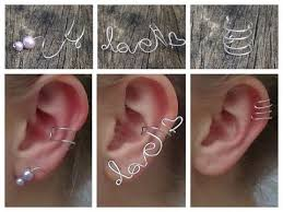3 delicate ear cuffs diy