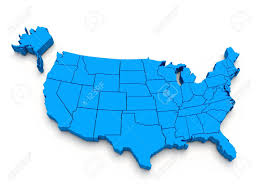 Us Blank Political Map by United States Map 3d Stock Images Royaltyfree Images Vectors Us