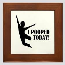 I Pooped Today Meme - i pooped today meme wall art cafepress