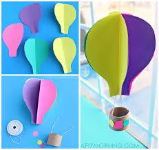 hot air balloon decorations 15 adorable hot air balloon themed crafts