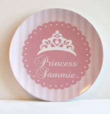 personalized photo plate princess pink personalized plate pipsy