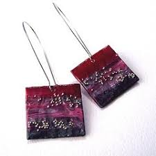 paper mache earrings paper mache earrings how to make paper mache earrings jewelry
