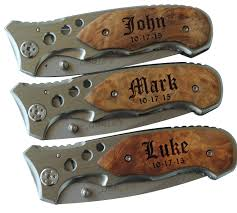 personalized knives groomsmen free engraving mtech usa assisted knife
